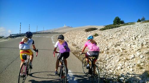 Les jeunes du Triathl'Aix ont bravé les pentes du Mont Chauve, bravo aux filles du club qui n'ont eu peur de rien !